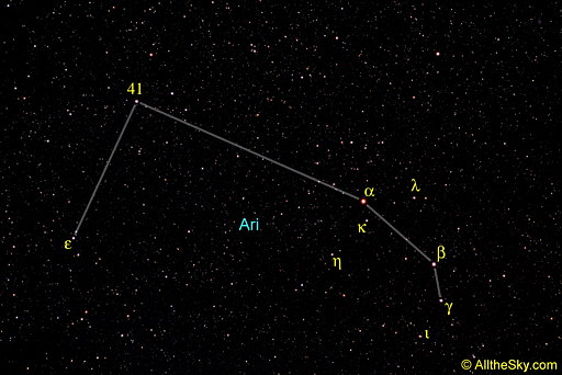 of the constellation Aries