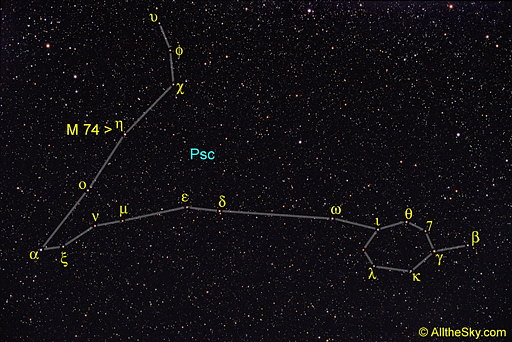Constellation Of Pisces