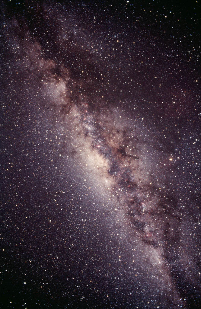 The Milky Way. Londoners may not know that this can only be seen in the southern hemisphere. And they aint in it.