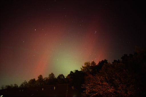 Aurora Boreal del 20 de noviembre de 2003